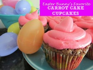 Easter Bunny's Favorite Carrot Cake Cupcakes
